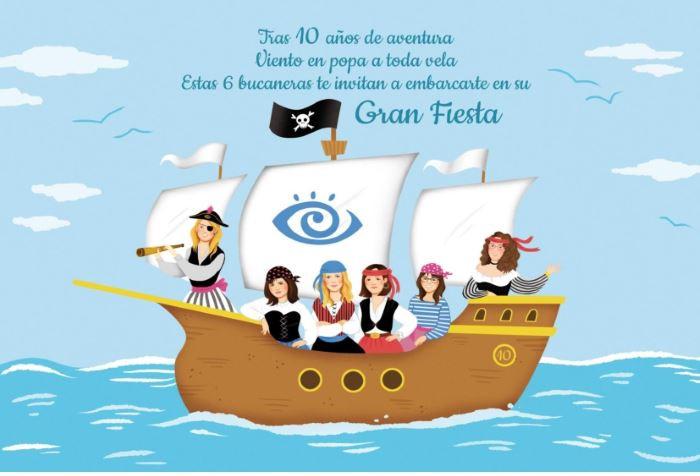 Celebramos el 10º aniversario de Visualia con una fiesta pirata